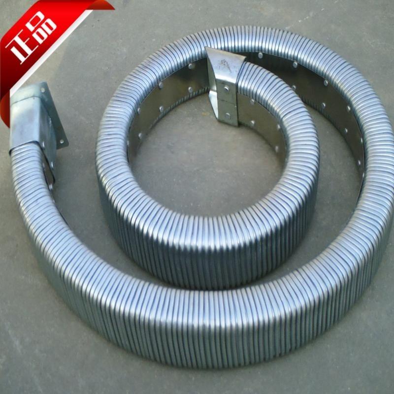 热销JR-2型矩形金属软管 全封闭穿线拖链软管