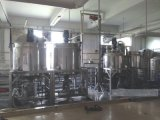 供应日化生产不锈钢搅拌锅 洗发水均质搅拌锅