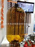 20L棕色啤酒桶 螺纹口啤酒瓶模具设计