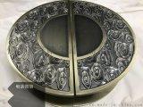 中式青古铜铝板雕刻拉手(精雕细节处理更好)高清大图