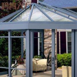 定制生產現代陽光房簡易陽光房舒適陽光房 鋼化玻璃庭院陽光房 來圖定制