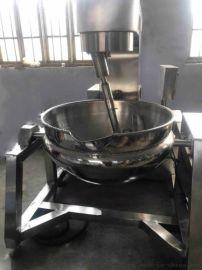 八宝粥熬煮锅 高粘度食品搅拌不糊夹层锅