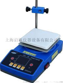 智能数显磁力搅拌器 智能数显磁力搅拌加热板 ZNCL系列智能数显加热搅拌器