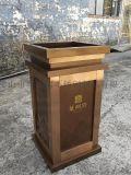 戶外不鏽鋼垃圾桶 廠家專業定做不鏽鋼戶外傢俱