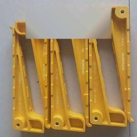 PVC玻璃钢电缆支架 地面固定穿线器三角脚架抗压