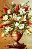 高清花卉油画