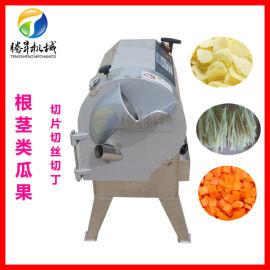 腾昇供应 自动切菜机 瓜果切片切丝切丁机