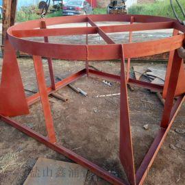 水庫泵房用鋼制吸水喇叭口ZBZD型大口徑吸水喇叭口
