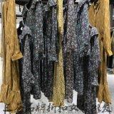 北京棉麻女装维姿诺女装品牌专柜正品尾货