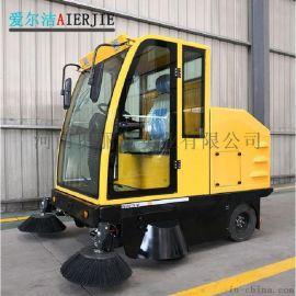 驾驶式扫地机电动扫地车工业道路树叶清扫车吸尘扫路车