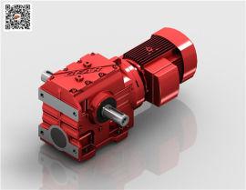 S67蜗轮齿减速机,S77减速机迈传S87减速机