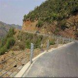四川公路缆索护栏,柔性缆索护栏,简洁防撞缆索护栏