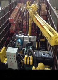 福建三明市SKB系列电动潜孔钻机履带式潜孔钻机