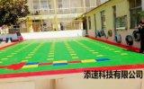 达州篮球场拼装地板厂家发货四川悬浮地板