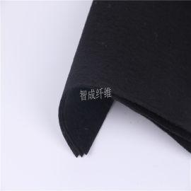 厂家批发沙发家具包装黑色针刺棉 针刺无纺布不织布