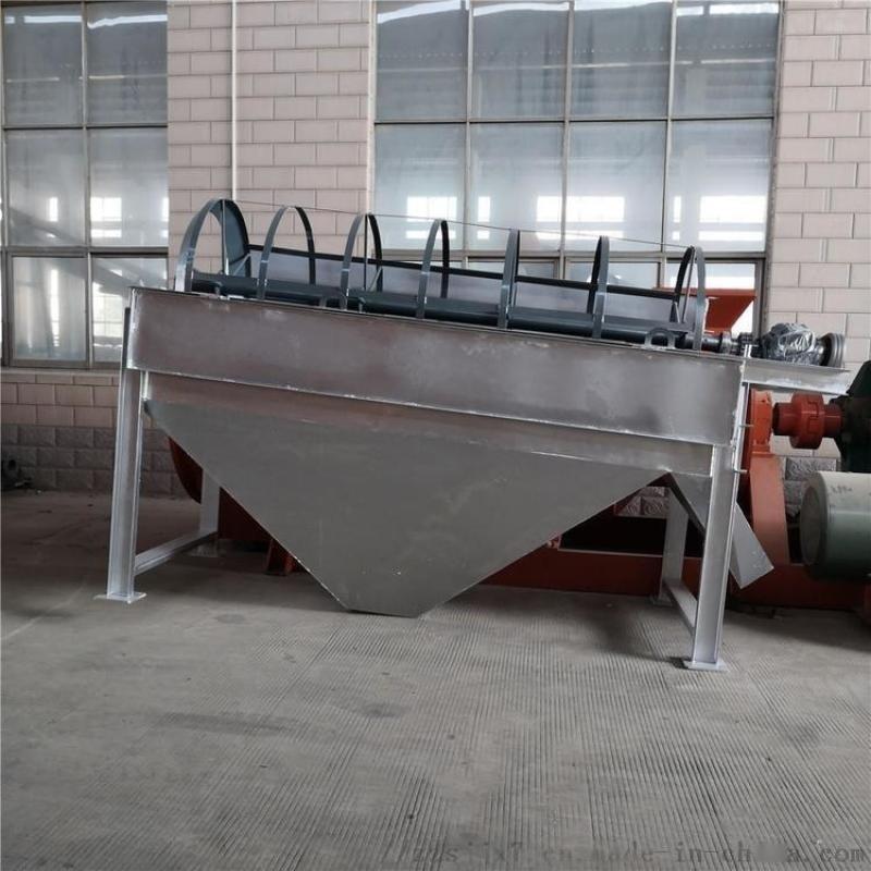 无轴筛滚筒筛分机 全自动竹粉转筒筛 垃圾滚筒筛分机