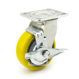 青岛大世铁芯聚氨酯重型脚轮