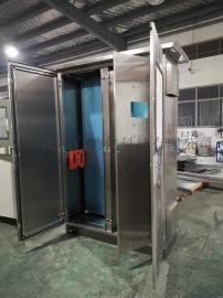 户外不锈钢防雨机柜,低压电气柜,双拼电柜