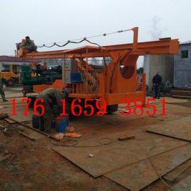 长螺旋打桩机 15米抗浮锚杆钻机济宁厂家