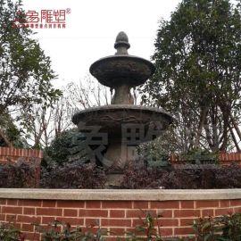 大型铸铜景观水法雕塑