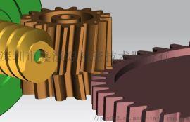 电动拖把拖地机专业齿轮箱设计_静音大扭矩