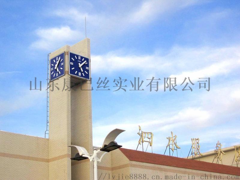 建筑时钟防水防晒单双四面建筑时钟