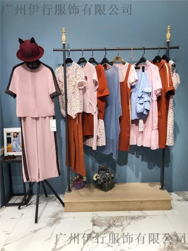 威海韓國服裝城綻然19夏品牌折扣女裝份貨走份