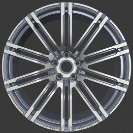 轿车改装锻造铝合金轮毂一片式轮毂1139