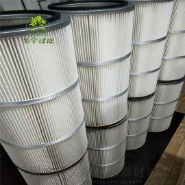 喷塑机空气除尘滤芯空气除尘滤筒