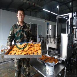土豆饼加工生产线、土豆饼成型上浆上糠设备流水线