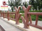 四川水泥栏杆厂,仿木纹栏杆厂家直销