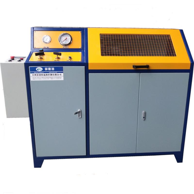 高壓管件靜壓水壓爆破測試臺 半自動液壓實驗臺