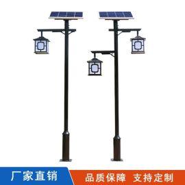 太阳能庭院灯中式仿古现代3米4米太阳能LED庭院灯