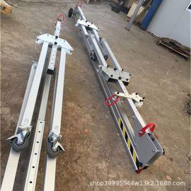 苏州0.5吨电动龙门架跨度2米吊高3米简易龙门吊铝合金龙门架