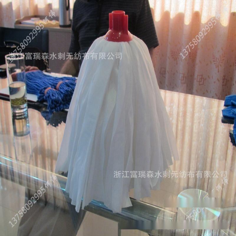 供應多種出口無紡布拖把_靜電拖布_無紡布拖布布料直接生產廠家
