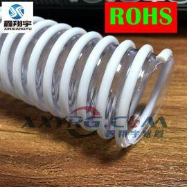订制加PVC塑筋增强软管/耐高温塑料波纹管/耐酸碱排水抽污管110