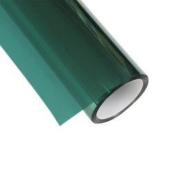 销售窗户玻璃隔热膜绿色镜面太阳膜防爆防晒防紫外线膜