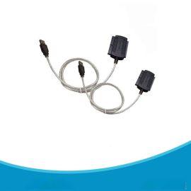 2.5/3.5寸硬盤 USB TO IDE連接線 打印線 電源線 USB轉IDE轉接線
