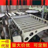 導軌式升降機運貨液壓貨梯庫房載貨液壓升降平臺鏈條固定式升降臺