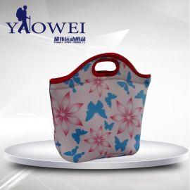 常州廠家供應 NEOPRENE午餐包潛水料印花午餐包飯盒保溫袋野餐包