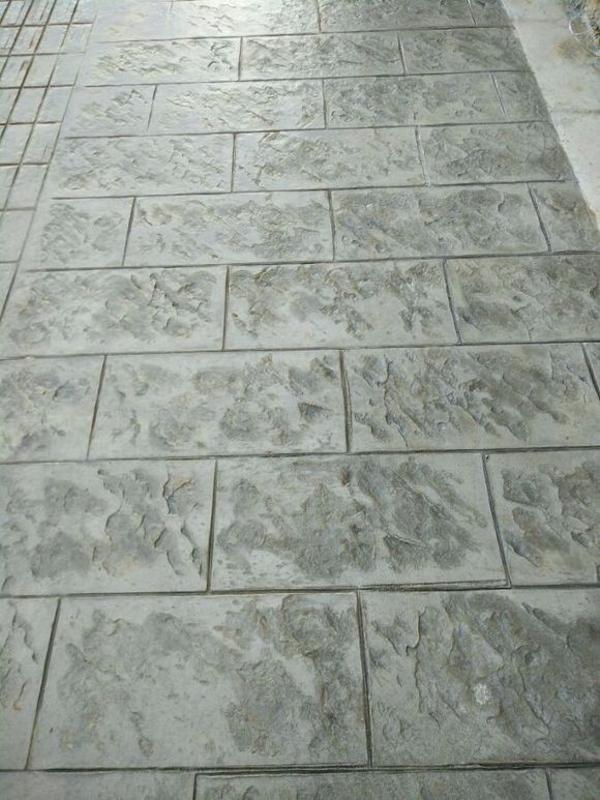 混凝土壓花 藝術地面 上海地坪 壓花地坪,印花地坪,印模地坪,壓模地坪