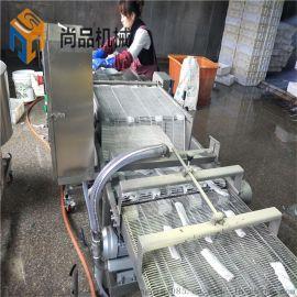 全自动五香刀鱼段上浆裹粉机 刀鱼段上浆裹粉机器