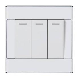 卫生间防潮墙壁开关插座,厨房防水8  位双联开关多,控墙壁开关