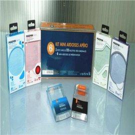 厂家供应pvc数码电子胶盒/手机壳透明盒/移动电源彩盒,PVC包装盒