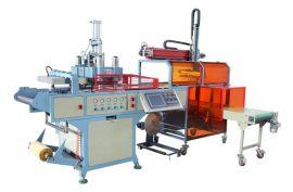 瑞安HY-510580型全自动月饼托成型机,可集成型,裁切,堆叠一次性完成。