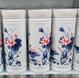 陶瓷保温杯 景德镇订做保温杯的 陶瓷保温杯