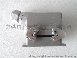 热流道插座, 工业矩形插座, 温控箱接头接口