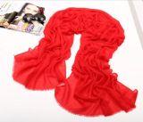 公司活動大紅圍巾定製男女高端羊絨禮品定製