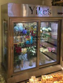 鲜花柜,鲜花展示柜,定做鲜花保鲜柜