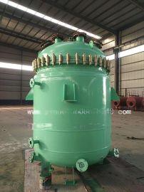 河南一诺容器2000L电加热搪玻璃反应釜